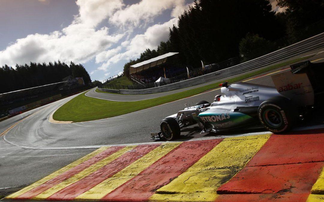 F1: Belgicko 2014